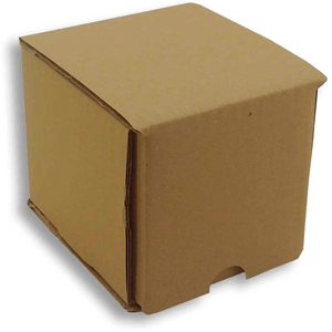taza - caja cartón