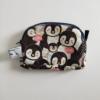 Bolso mini con tela de pingüinos